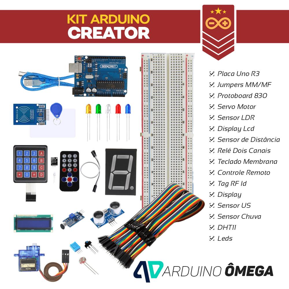 Arduino Ômega - Kit Arduino Creator