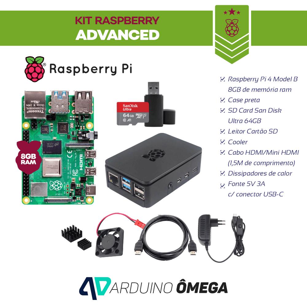 Kit Raspberry Pi 4 8GB